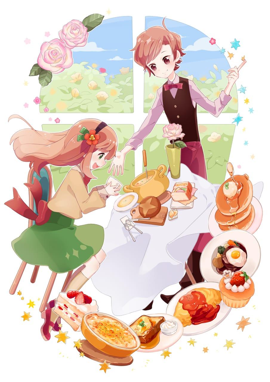 魔法使いのレストラン Illust of 餅村そらた October2020_Contest:Food girl food
