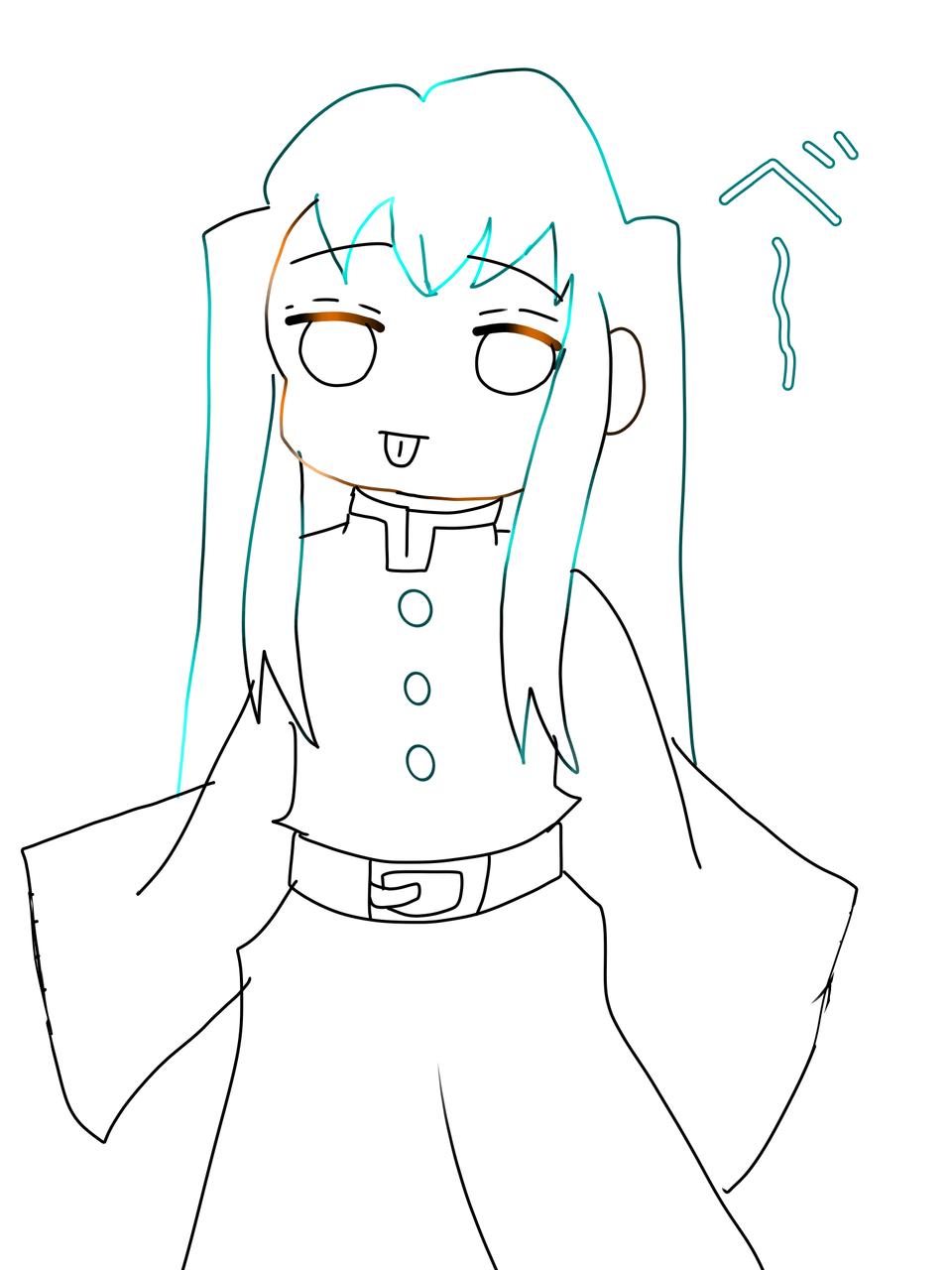 むいくん Illust of ねこいちご 小6 TokitouMuichirou kawaii KimetsunoYaiba
