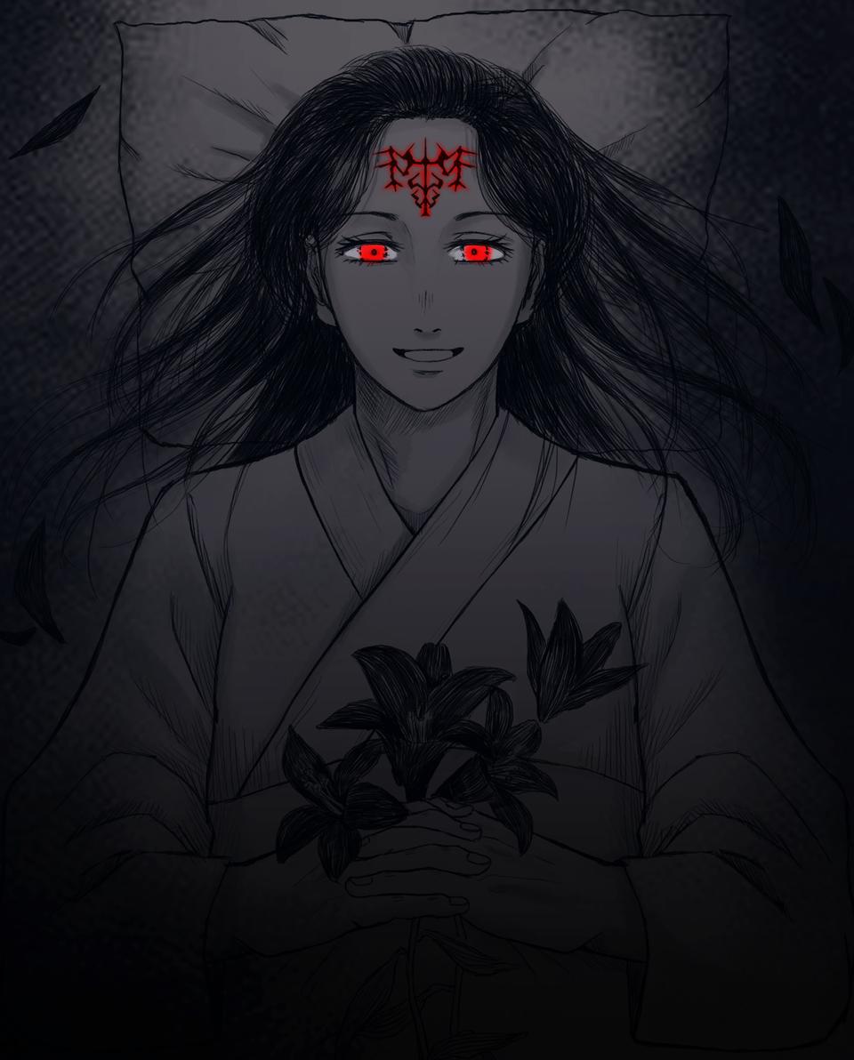 おはよう、津美紀 Illust of の主 JujutsuKaisenFanartContest JujutsuKaisen 伏黒津美紀
