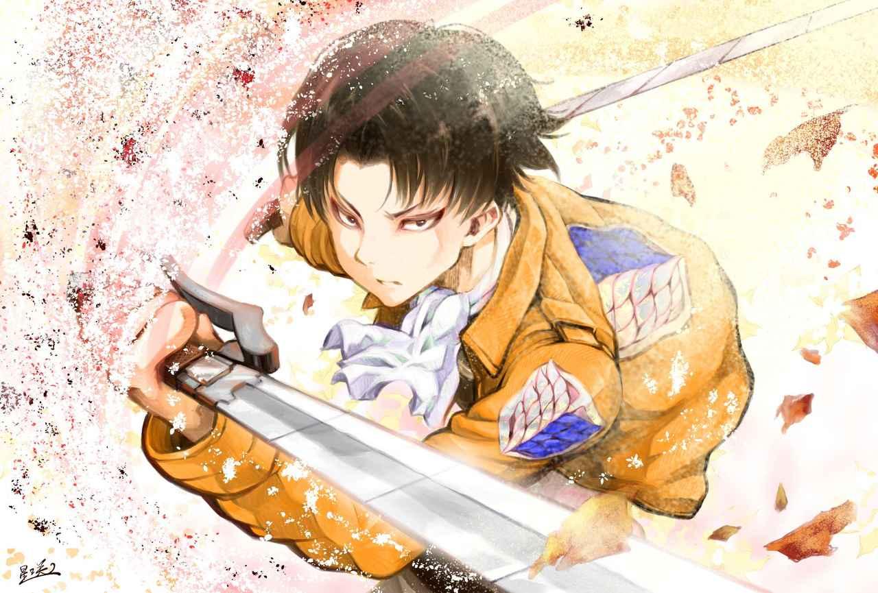 リヴァイ☆ Illust of れいた digital anime 兵長 リヴァイ兵長 AttackonTitan クリスタ Levi