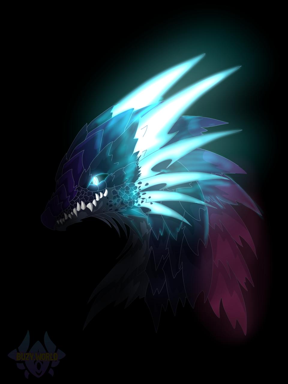 龙龙! Illust of Buzy medibangpaint furry dragon 龙 西方龙
