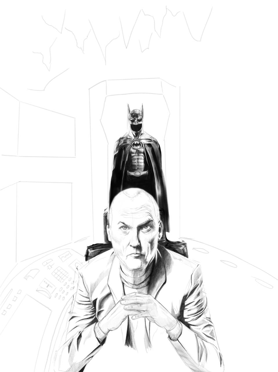 Batkeaton  Illust of Danfvm88 Post_Multiple_Images_Contest Batman