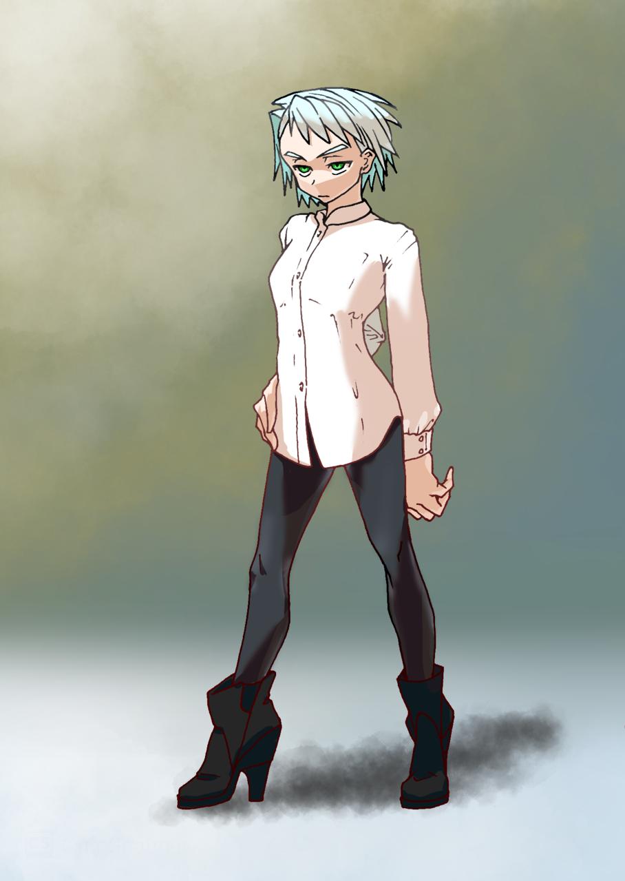 girl's Illust of よしー girl original