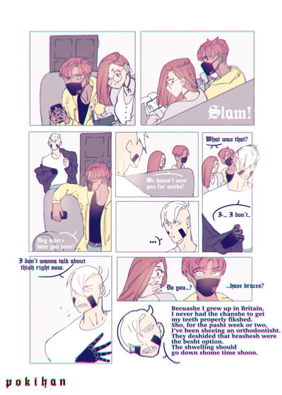 ...  Illust of poki.han medibangpaint Comics PokiHan Duncan oc anime OCcomic chives koko