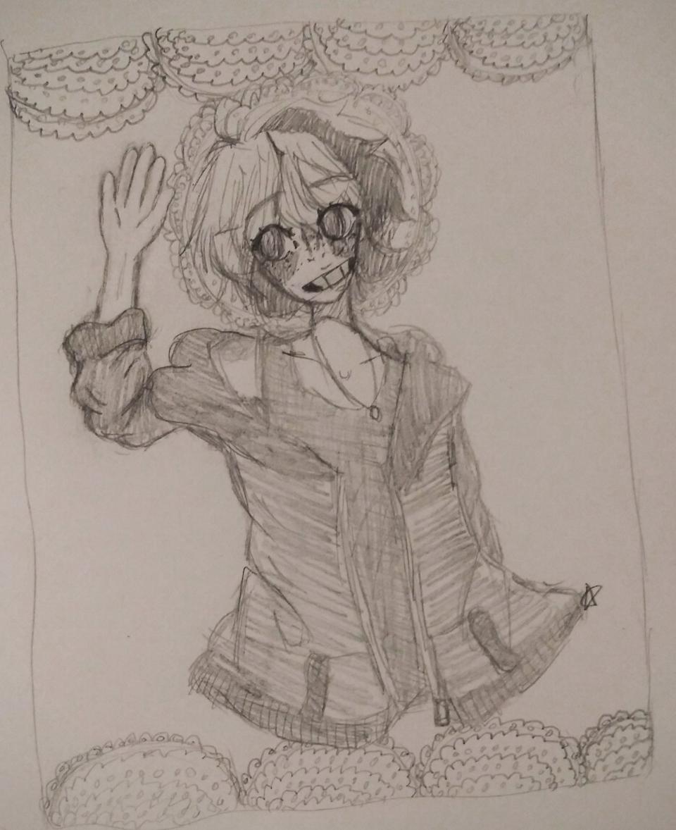 oops Illust of moongender medibangpaint