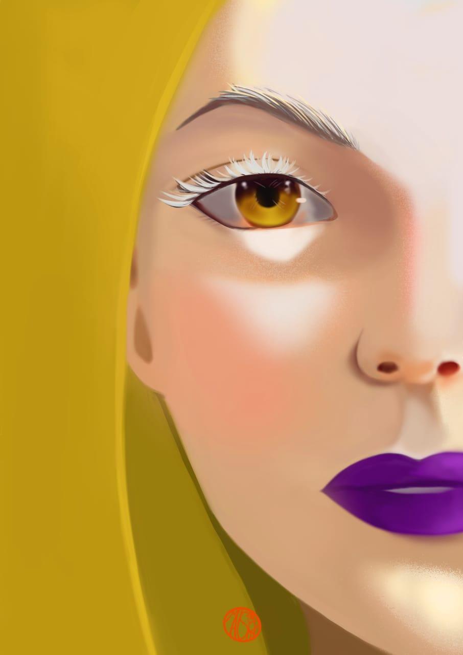 Hello Yellowers  Illust of maishiro yellow colourstudy girl