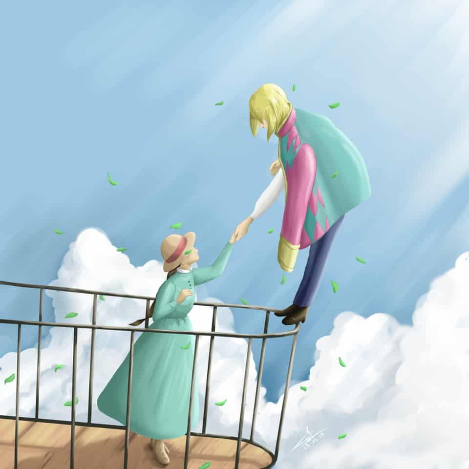 howl's moving castle fanart