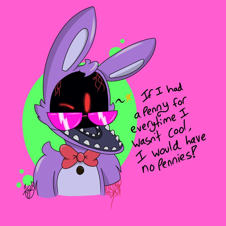 I'm obsessed with drawing Bonnie! Illust of InkEevee medibangpaint