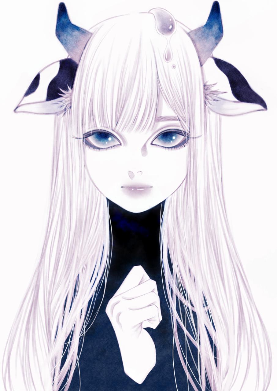 丑ちゃん Illust of 蛹 January2021_Contest:OC JujutsuKaisenFanartContest November2020_Contest:Cyberpunk 藍色 blue 丑年 牛 newyear 丑