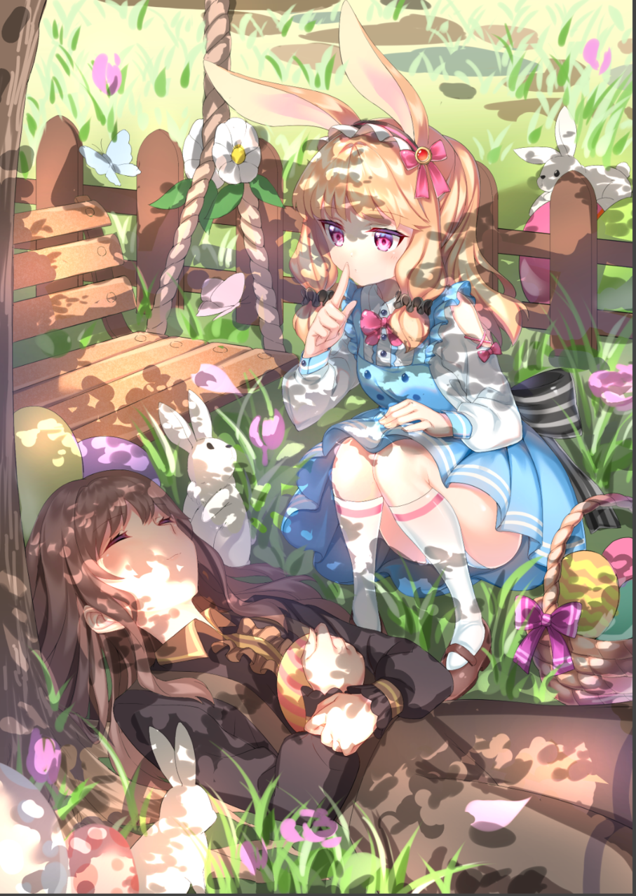 イースター Illust of 炭酸人間 March.2020Contest:Easter kawaii