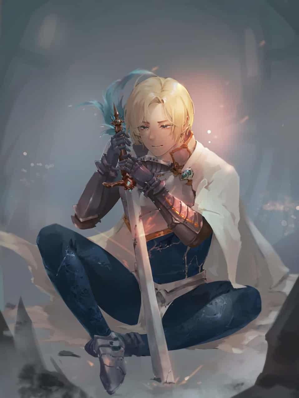 Savior--defeat Illust of Peace male 剣 boy 男 男性キャラ