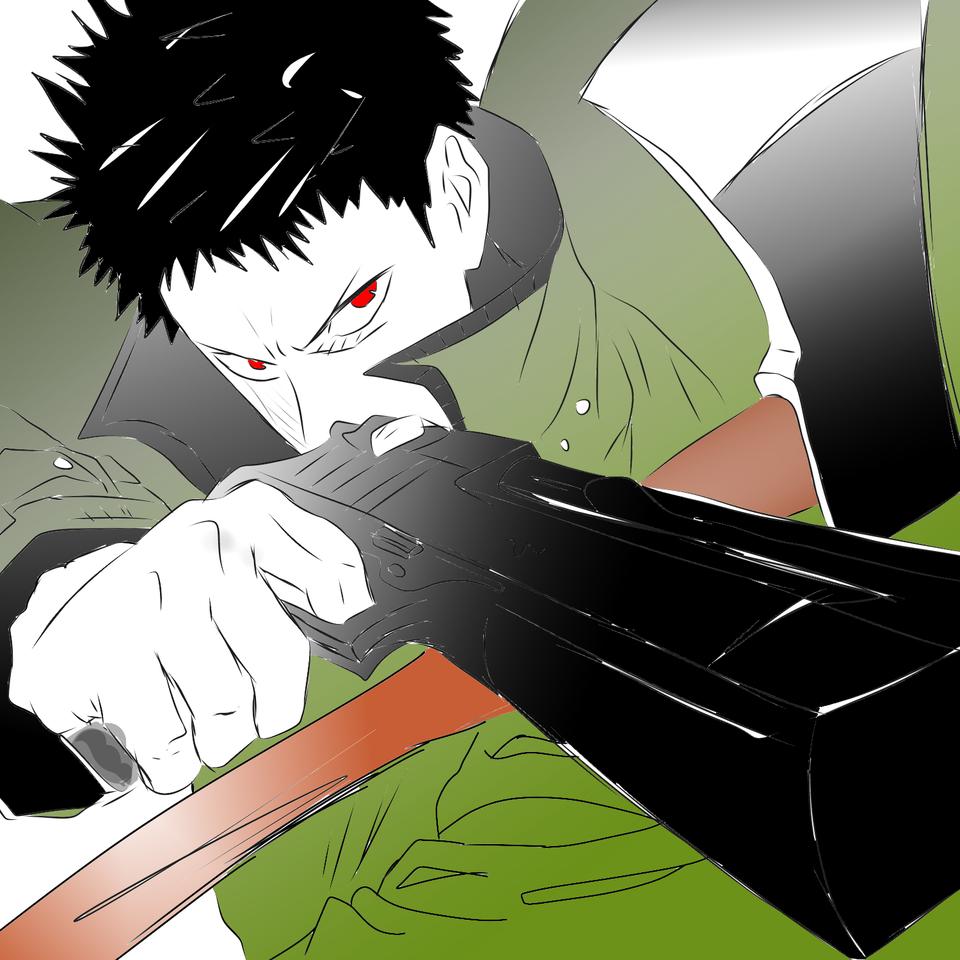 ゾンビマン! Illust of 如月来蕾≮TRPG≯ medibangpaint Comics One-PunchMan anime ゾンビマン