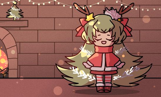 【原创人物】一颗圣诞树