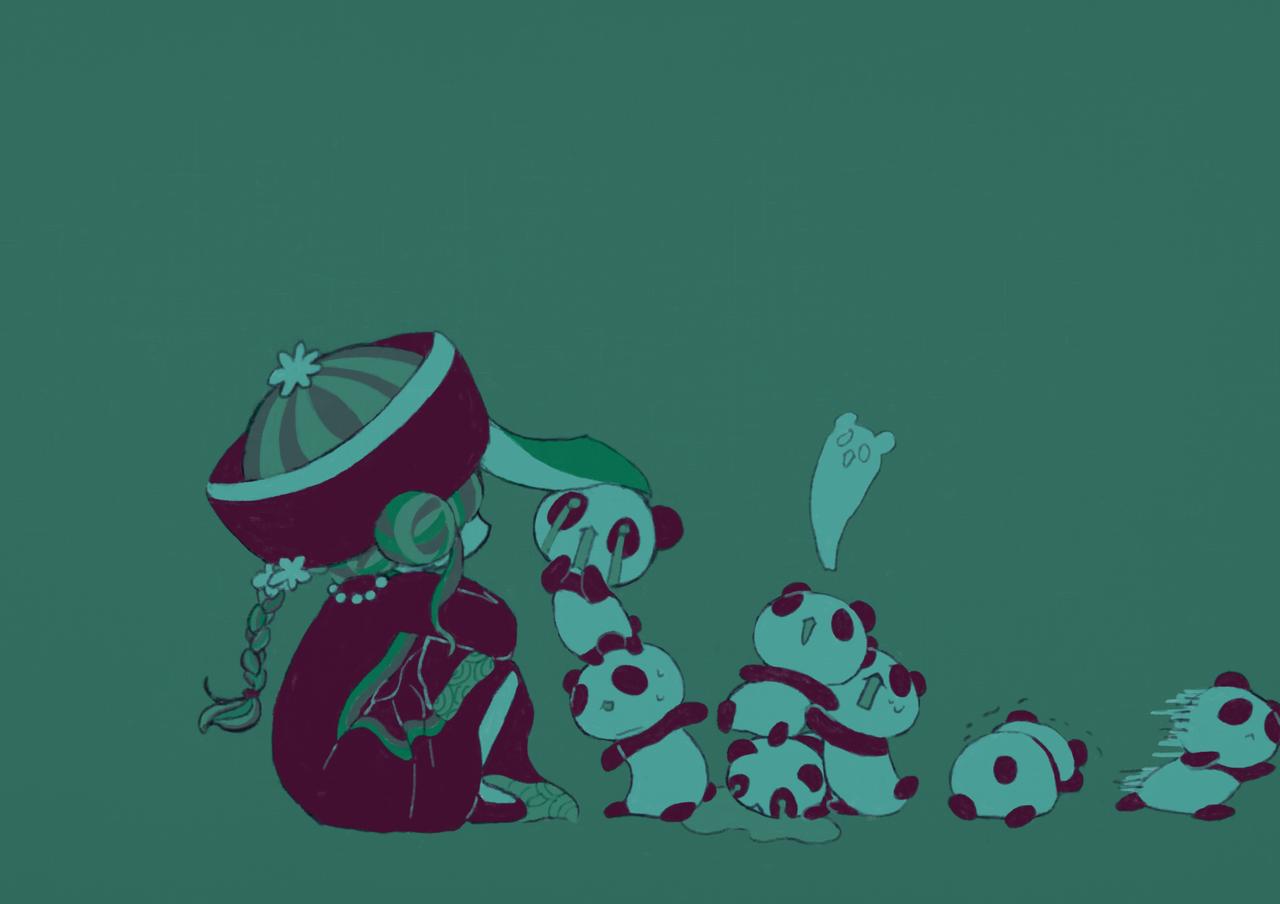 こわいかお Illust of kita August2020_Contest:Horror