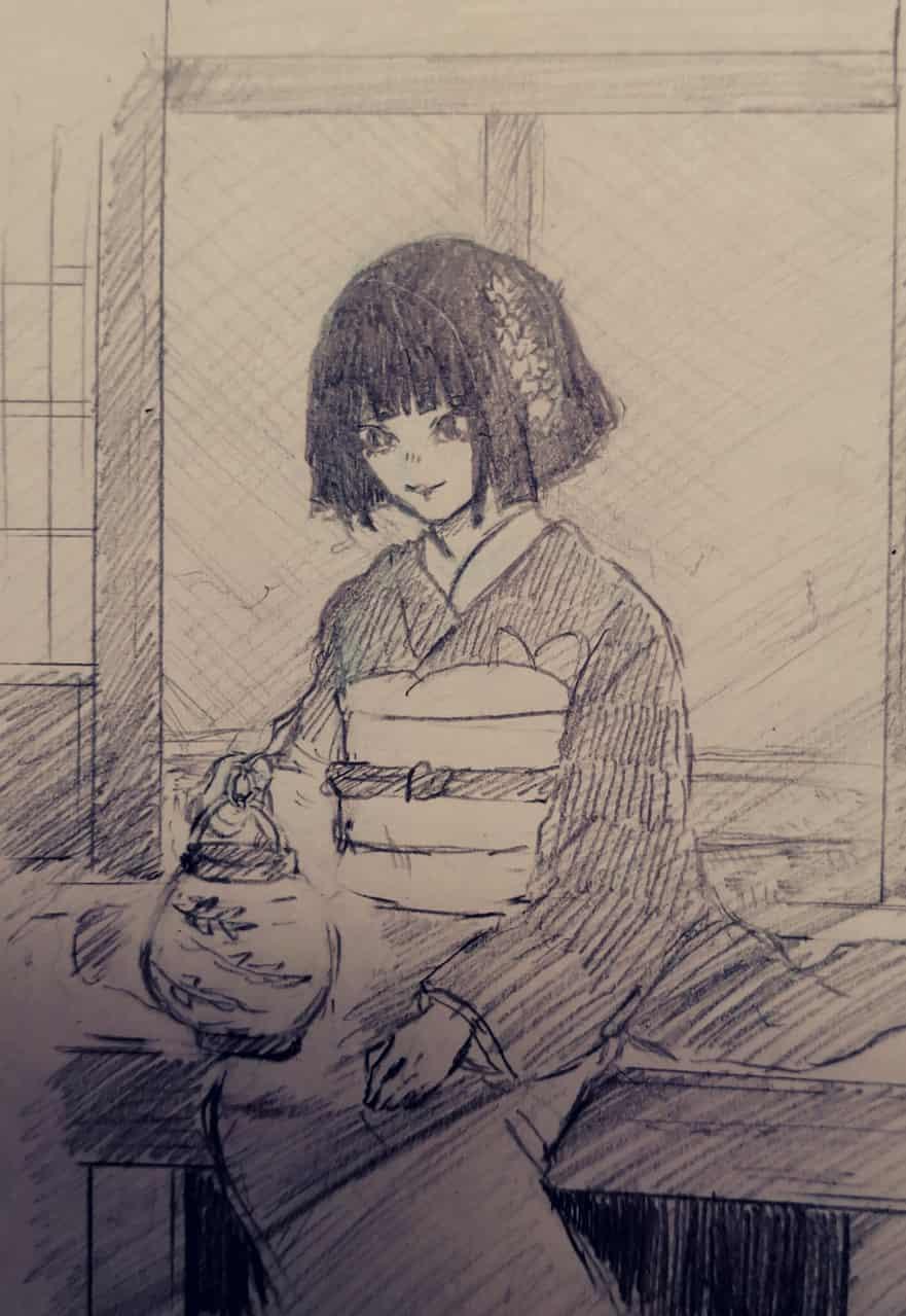産屋敷輝利哉 Illust of ぱん打!!! KimetsunoYaiba illustration 産屋敷輝利哉 doodle