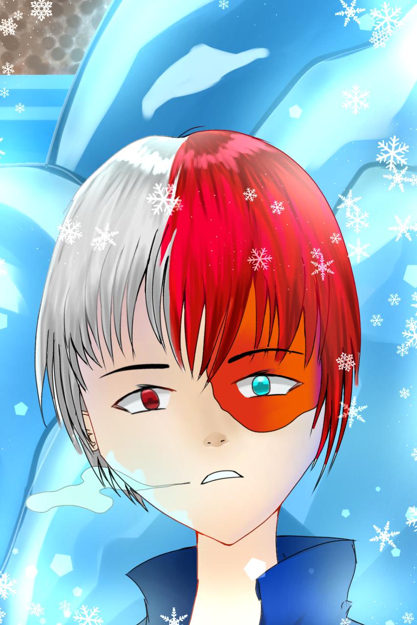Todoroki fanart!  Illust of Infinite stylez medibangpaint fanart MyHeroAcademia anime Todoroki