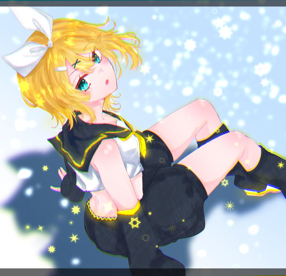 リンちゃん Illust of 玉露(たまつゆ) medibangpaint VOCALOID girl Kagamine_Rin