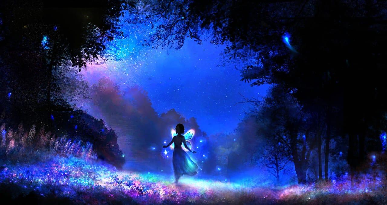 仲夏夜之夢 Illust of 晴夜星子 February2021_Fantasy March2021_Creature January2021_Contest:OC MySecretSocietyContest 精靈