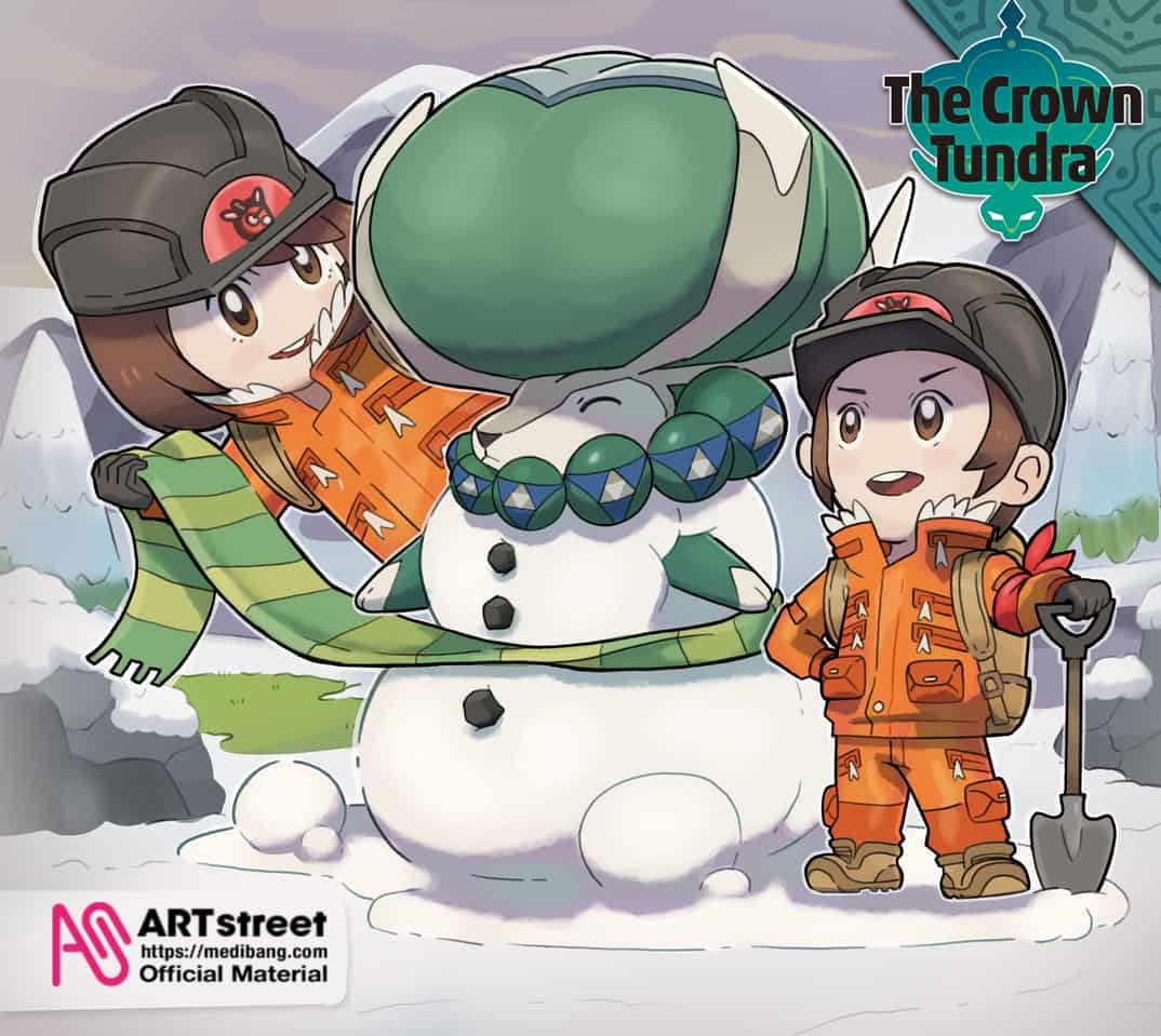 Calyrex: in the Crown of Tundra Illust of TaNyaKu tracedrawing2 ARTstreet_Ranking PokemonShield TaNyaKu TheCrownTundra Trace&Draw【Official】 AfroTokyo