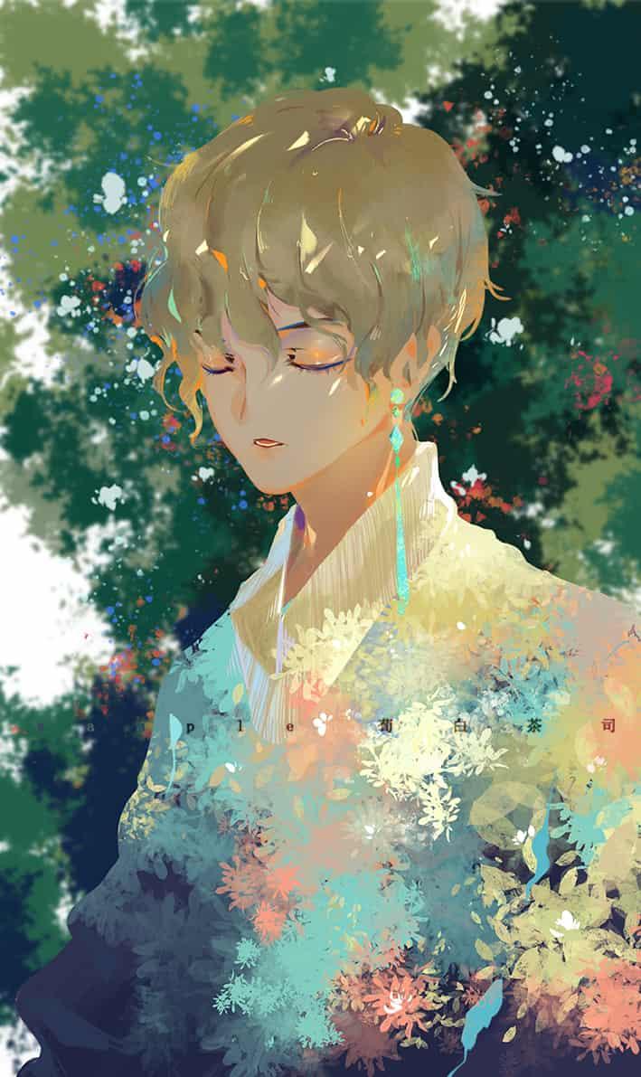 花解语 Illust of 荀白茶司 original painting illustration