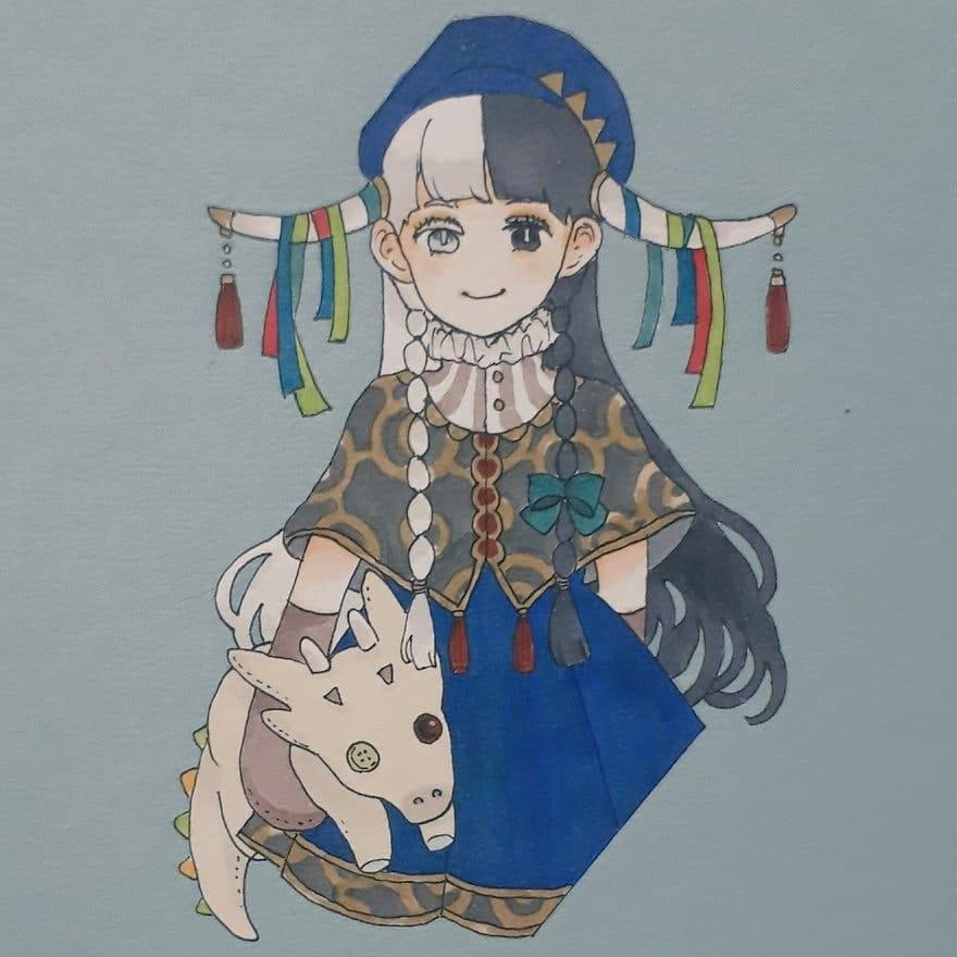 ハーフサイダーちゃん Illust of 石蕗いずれ oc