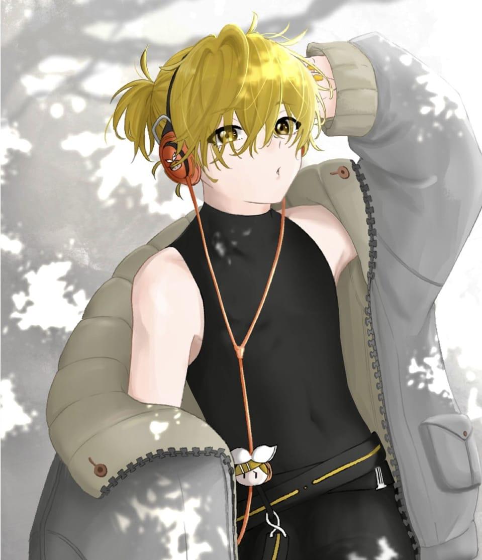 レン君 Illust of おの KagamineLen VOCALOID kagamine boy