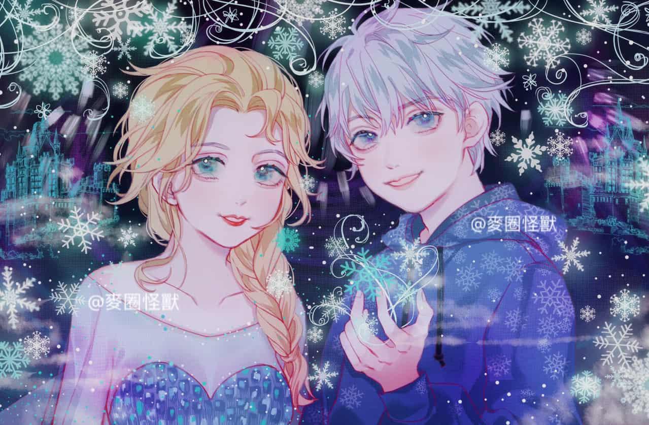 。 Illust of 咕咕咕 dec.2019Contest Frozen ice