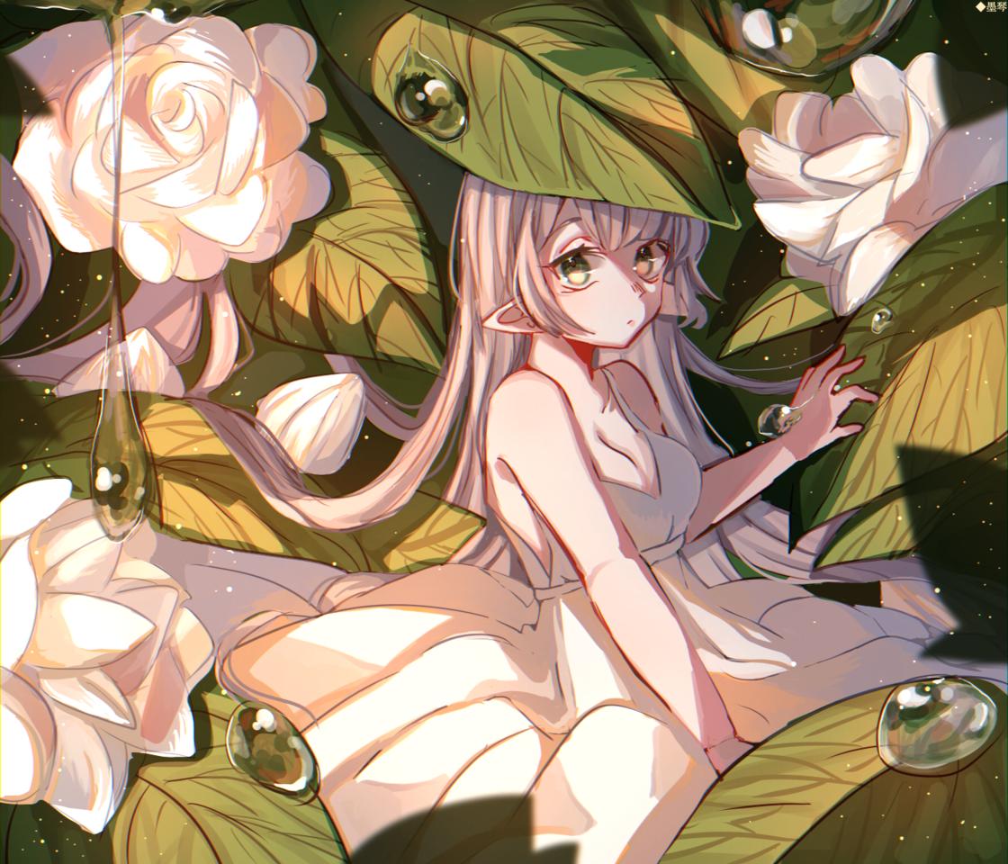 茉莉花 Illust of もち 墨琴 medibangpaint rose