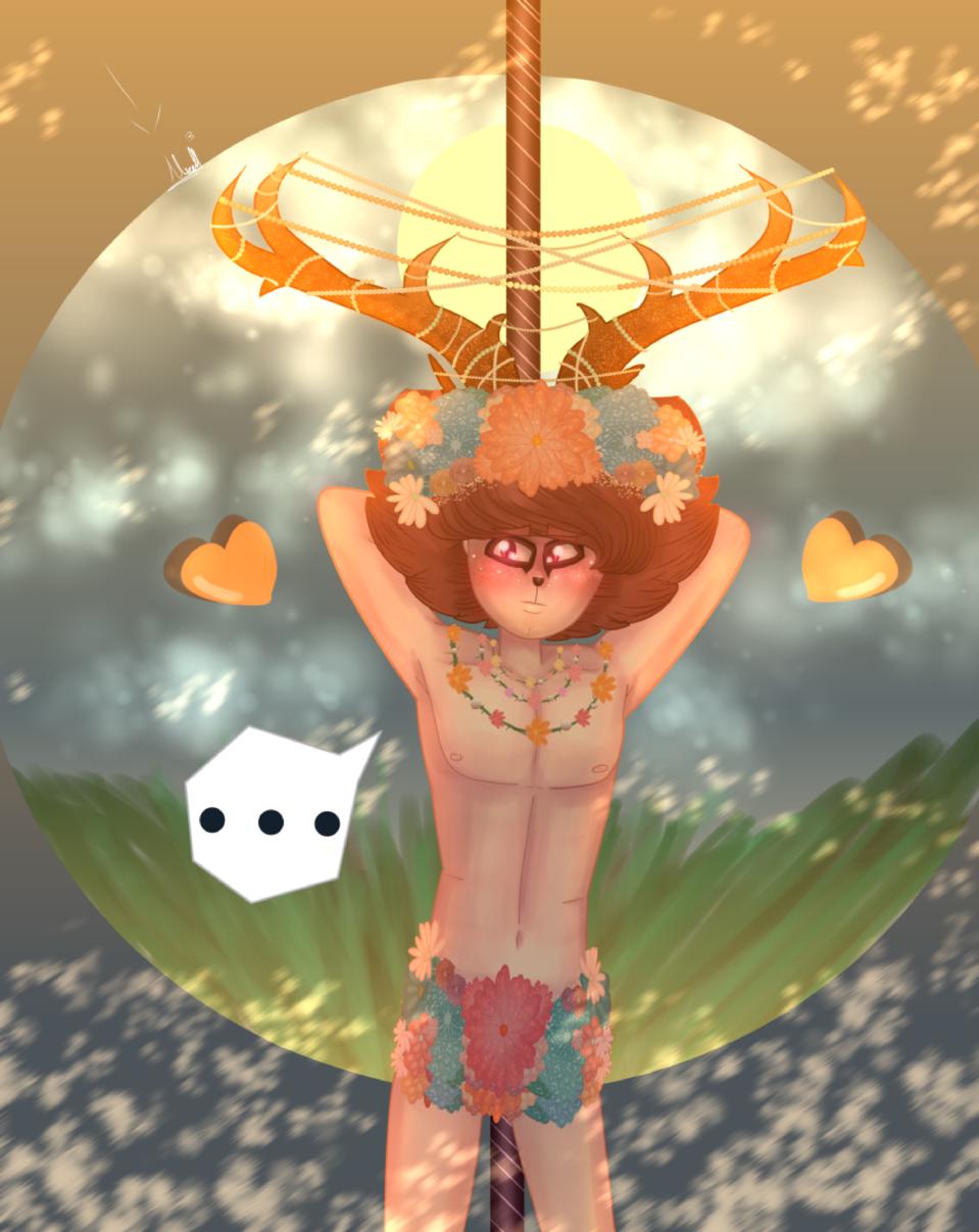 Luyten :)......(leer desc) Illust of MirelleGallery✨ fantasy medibangpaint art MyArt Medibang boy cute drawing sexy cosplay
