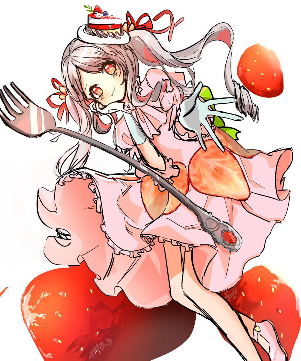 딸기 Illust of 딸기 딸기 Personification strawberry