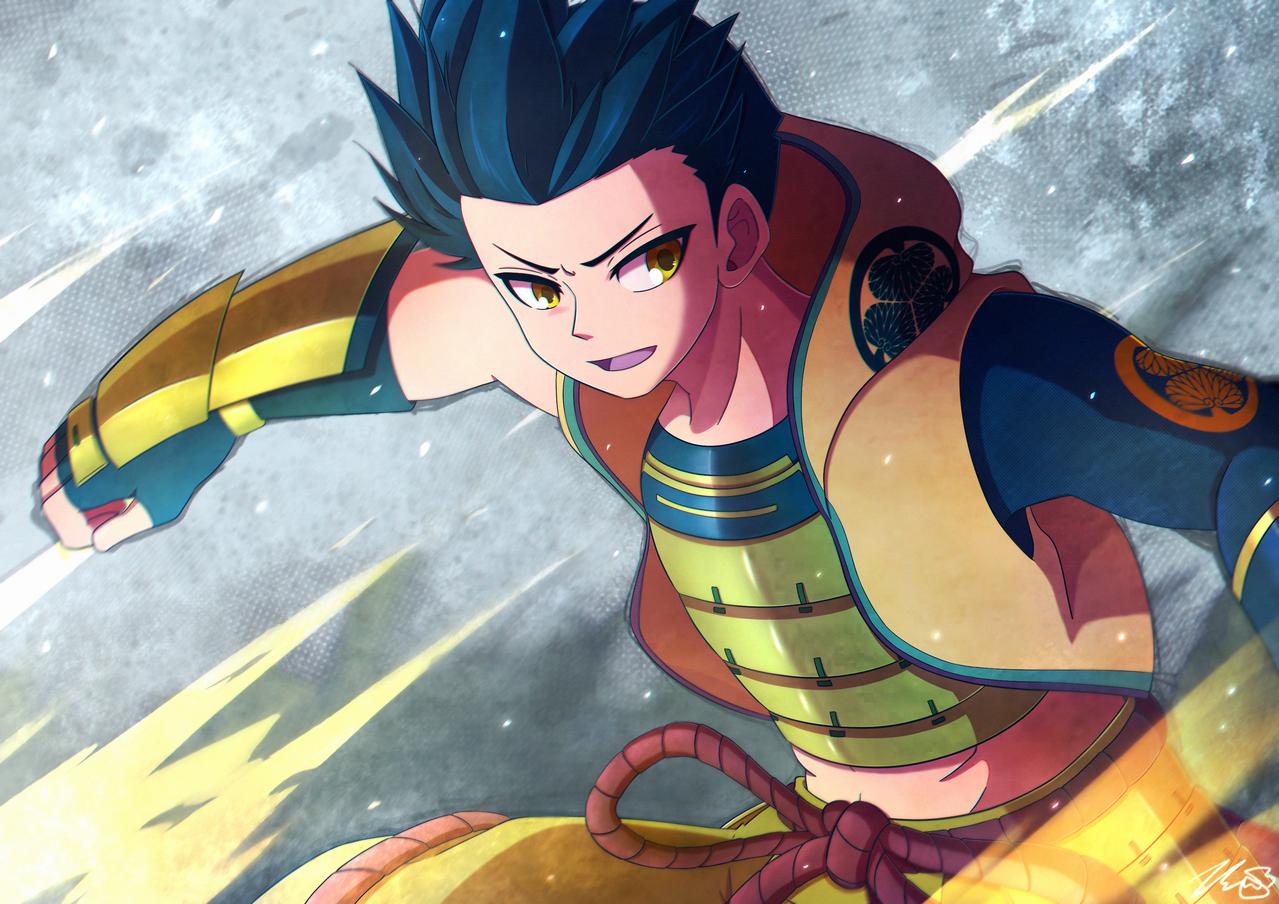 Sengoku Basara Log Illust of ExothermicEX oc ashikagayoshiteru illustration tokugawaieyasu 徳川家康 まとめ sketch 足利義輝 Sengokubasara 戦国BASARA