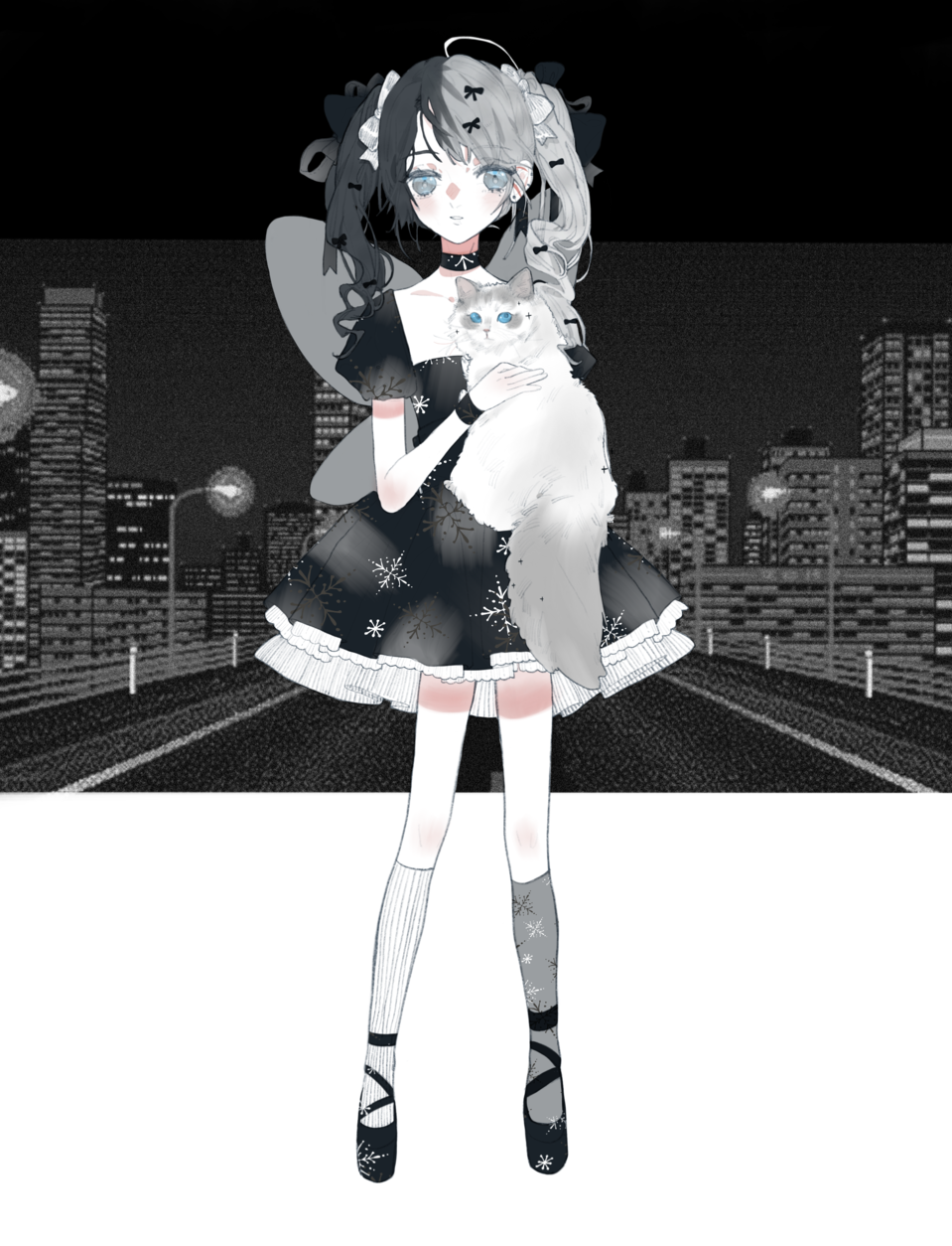 ✨tonight🌃 Illust of 九木口冬 Aug.2019Contest