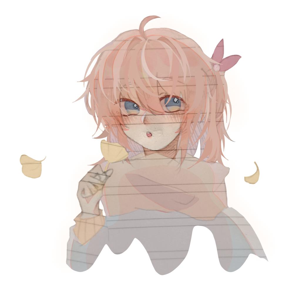 day2 围巾和银杏 Illust of 桜庭花莓. medibangpaint
