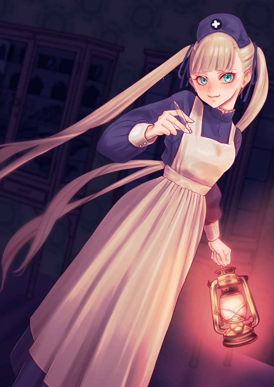 眠れ眠れ Illust of FJ January2021_Contest:OC February2021_Fantasy girl oc original kawaii medibangpaint