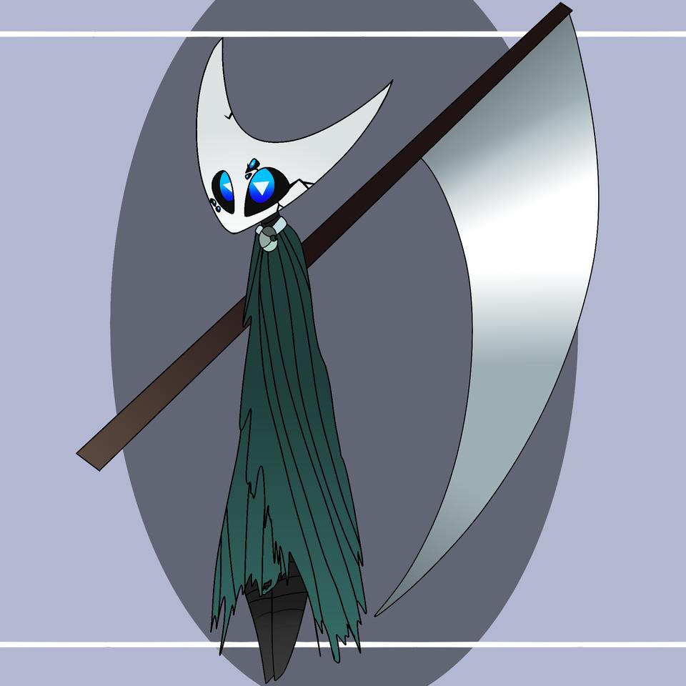 Azula Illust of ❄Ash❄ medibangpaint Knight Hollow_Knight HK oc Hollow