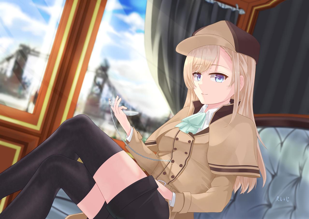 Illust of えいじ detective original girl digital illustration artstreet oc