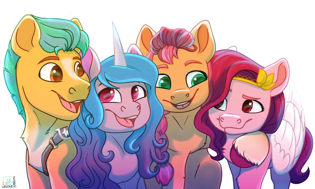 The Gen5 Illust of SilverCloud25 medibangpaint digital fanart MyArt pony MLPGen5 MyLittlePony