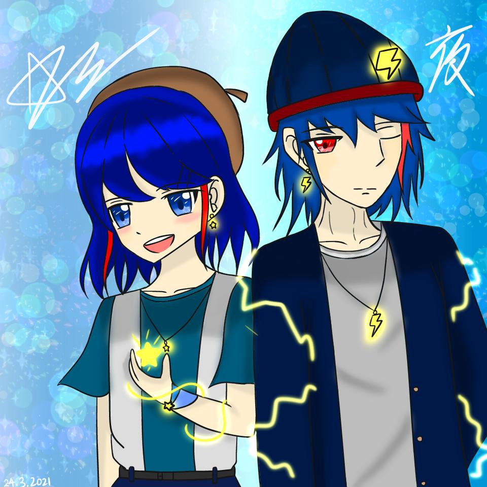 新頭像 My new Avatar 【Fashion Time!!】 Illust of 神祕的星彩star fashion SRF girl 閃電 星星 boy cute 訓練人物 Avatar oc