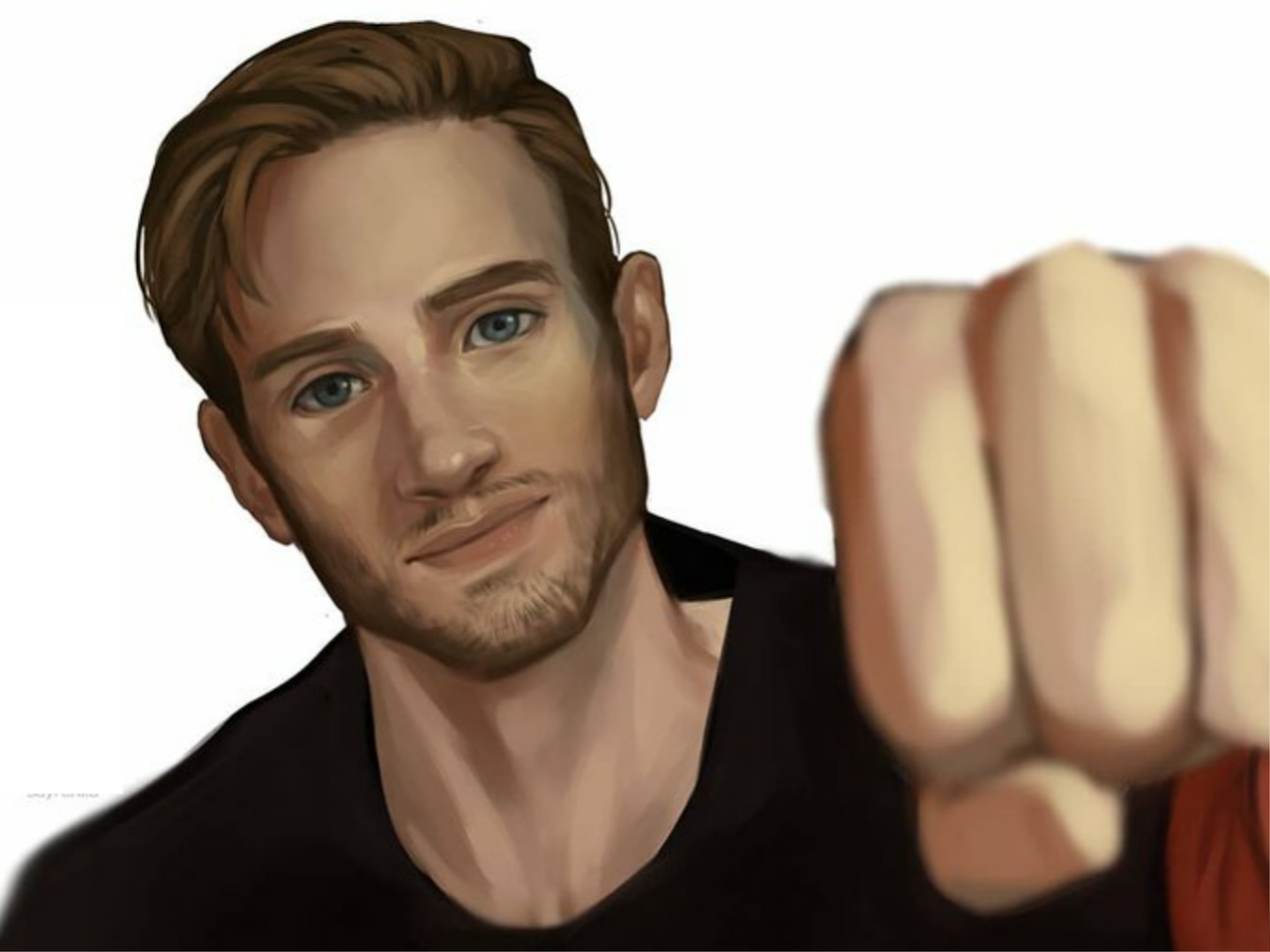 [Speed-Art]pewdiepie | Draw in Medibang