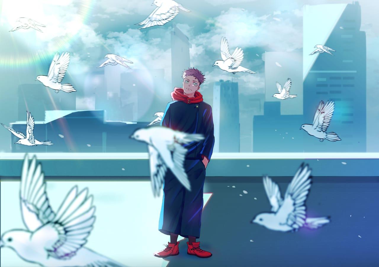自由の居場所はどこ? Illust of Jcell JujutsuKaisenFanartContest JujutsuKaisen