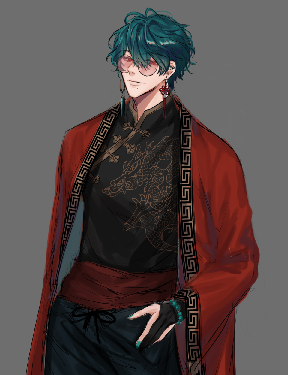 남자 Illust of 뇸뇸 캐디 sketch boy