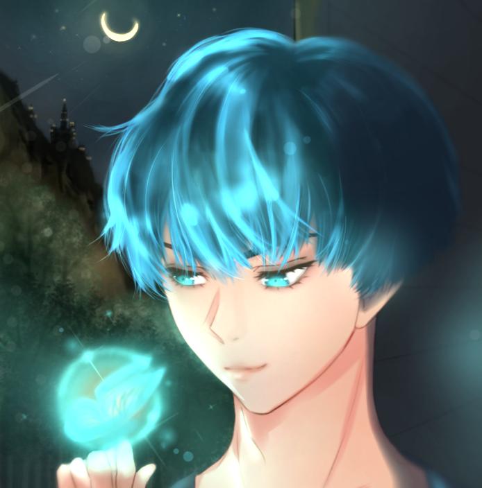 Butterfly fantasy 🦋💙✨ Illust of Candyjl fantasy illustration blue iPad_raffle boy original Artwork medibangpaint