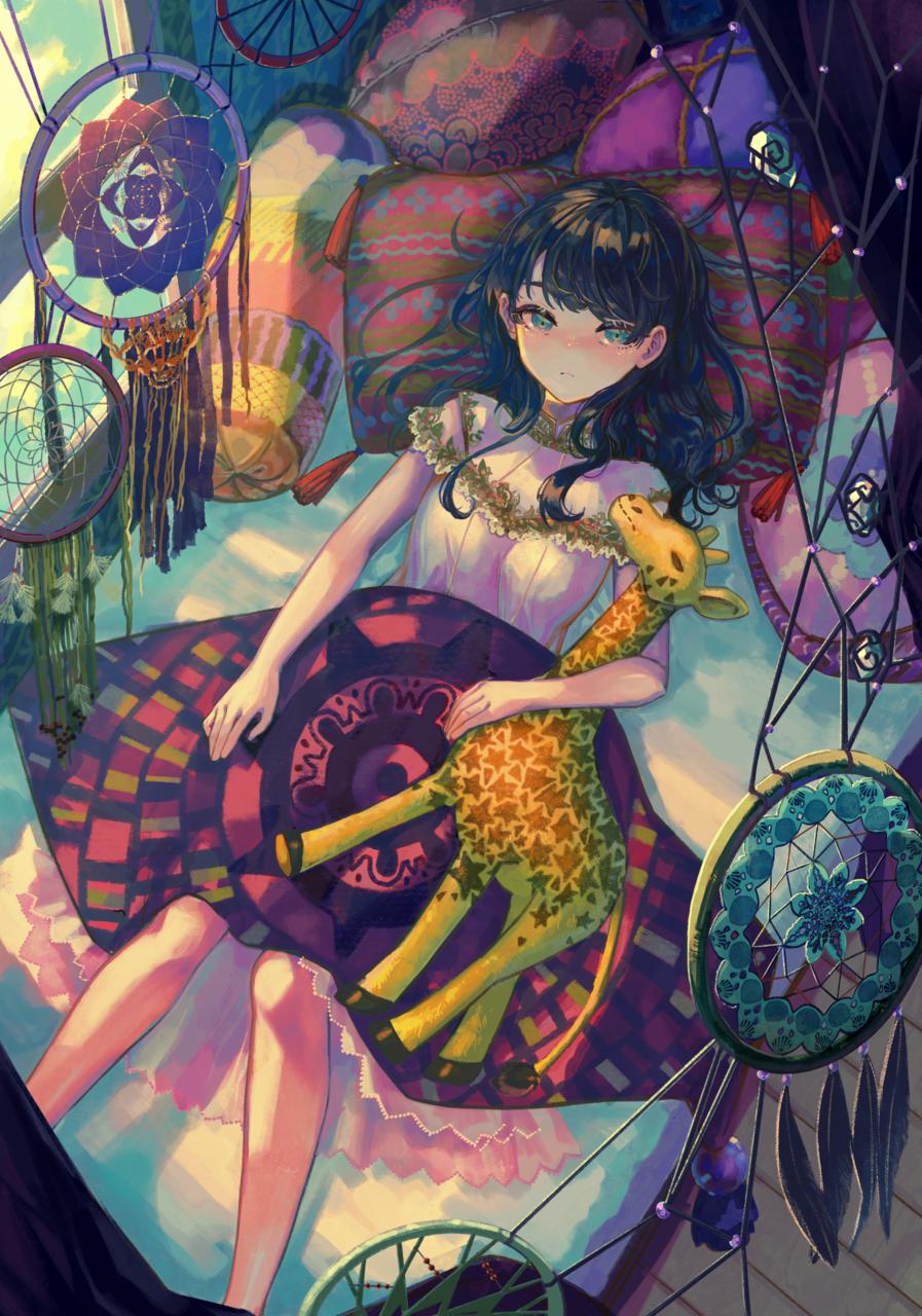 眠のまじない Illust of 善兵衛 girl original