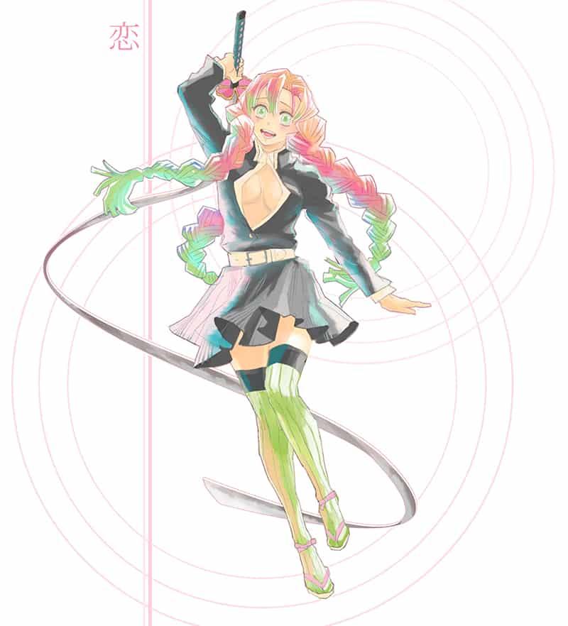 恋柱 Illust of 虎豆 KimetsunoYaiba KanrojiMitsuri