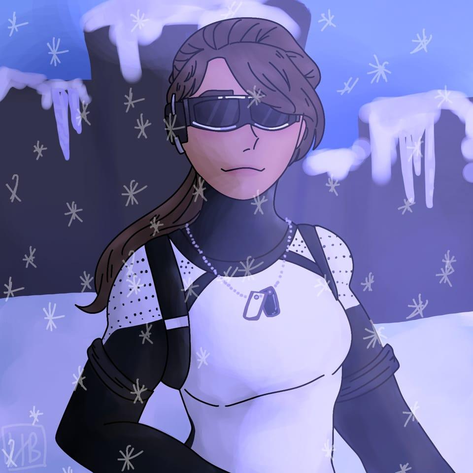 Arctic Assassin  Illust of hxneybun game medibang illustration practice