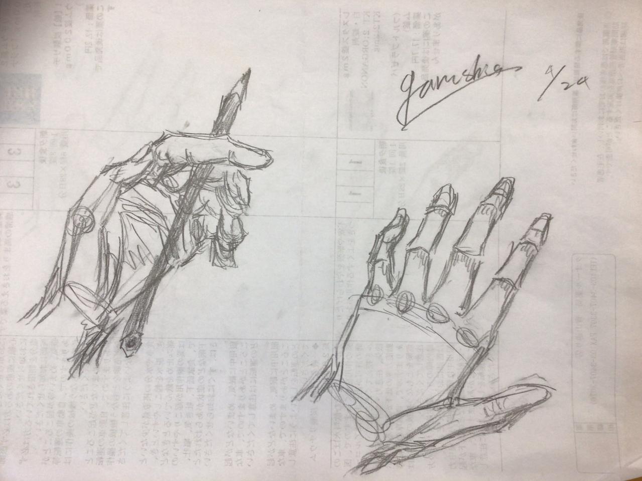 昔の絵 Illust of garushia@ガルシア家主人🌹🎭💧📕 original アイ色のスケッチブック アナログ hand 模写 medibangpaint illustration garushia 過去絵 medibang
