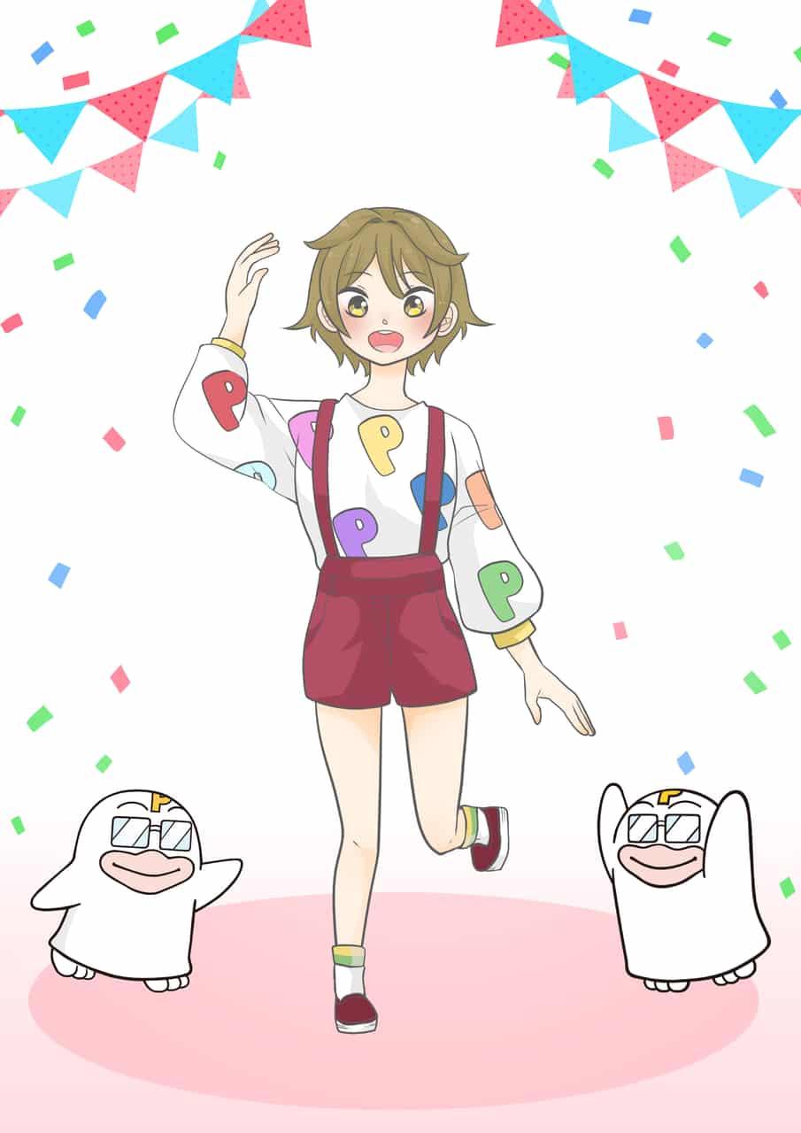 私と付き合ってください…! Illust of ぱん乃 PICO公式キャラクターPICOQガールフレンド大募集!!コンテスト girl original