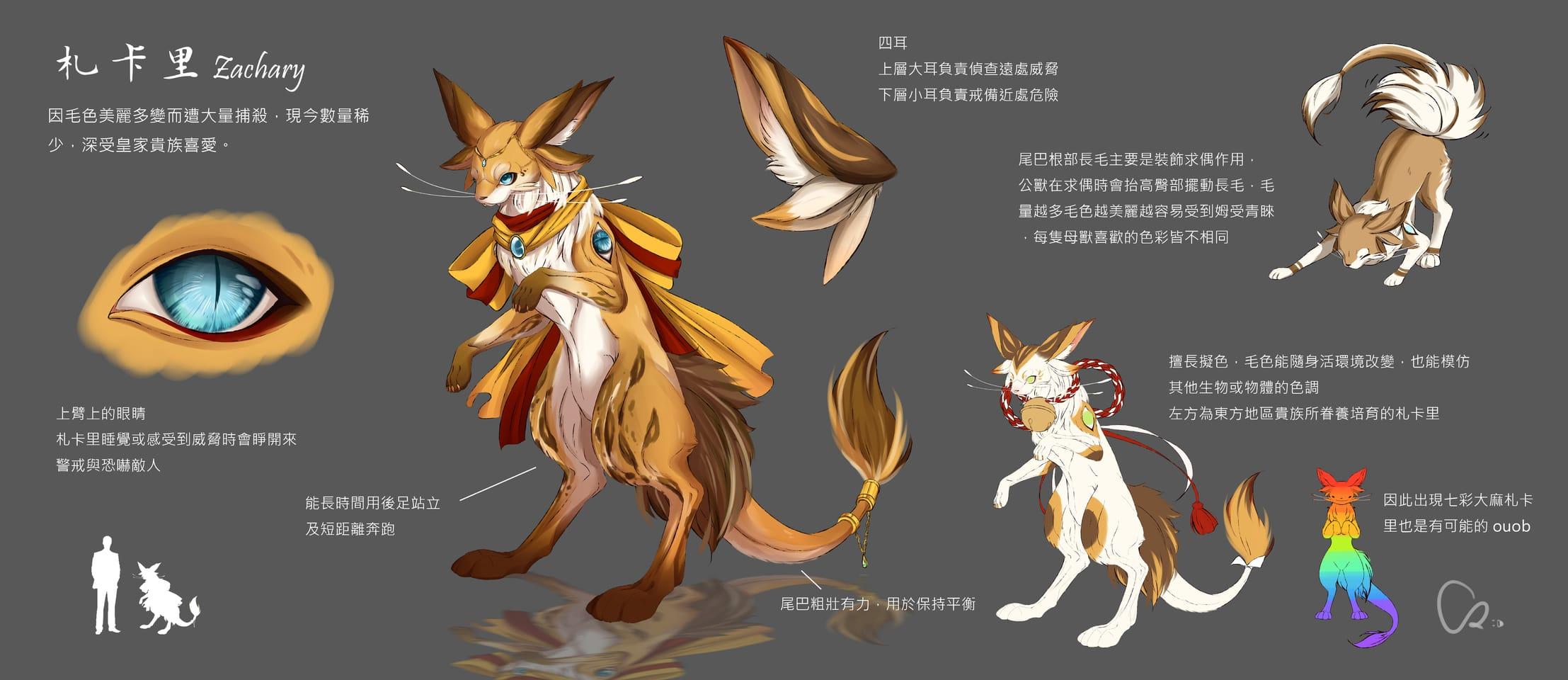 札卡里 Illust of INU March2021_Creature February2021_Fantasy furry