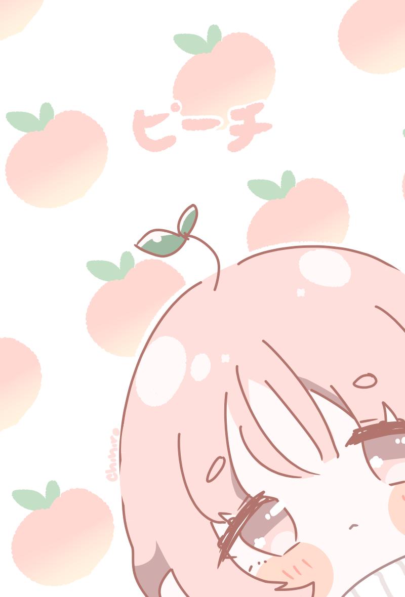 ピーチ | Peach Illust of Chi medibangpaint chibi girl orginalcharacter anime oc
