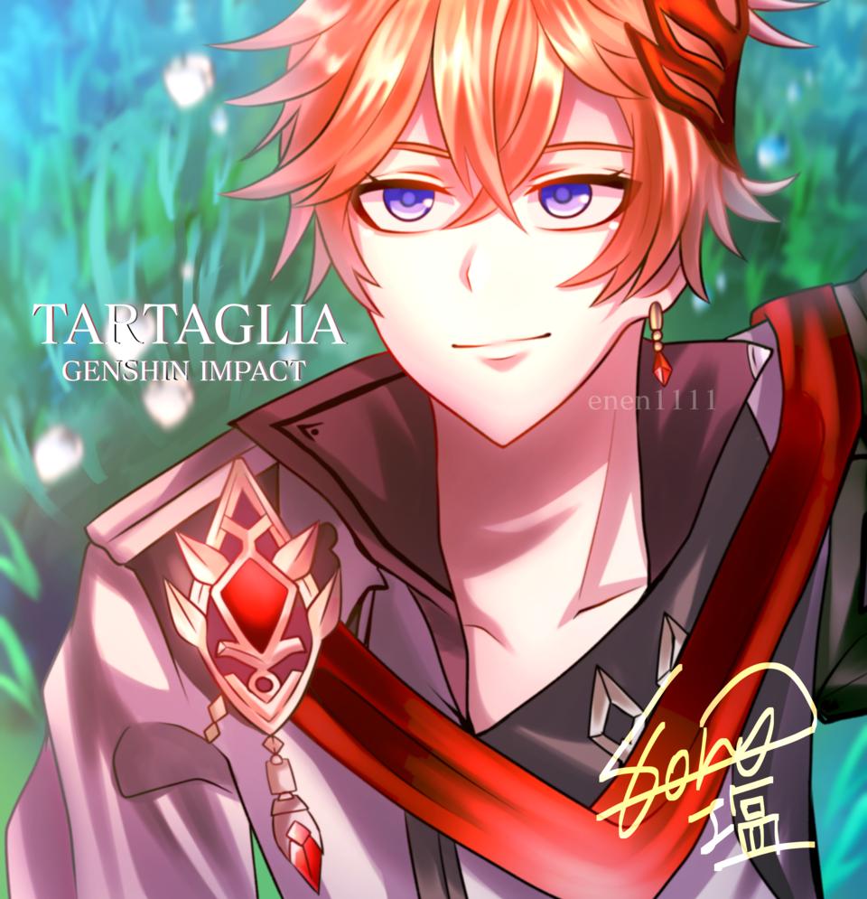 原神Tartaglia Illust of 塩 medibangpaint water Tartaglia GenshinImpact 初描き タルタリヤ Childe